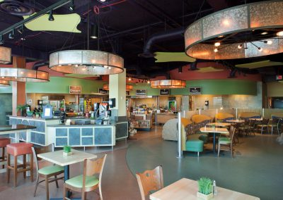 Ocean Journey Cafe at Legoland's Sealife Aquarium